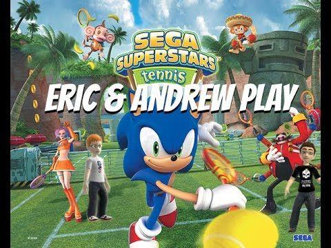 Let S Play Sega Superstars Tennis Eavs Sega Tennis Pictures Tennis