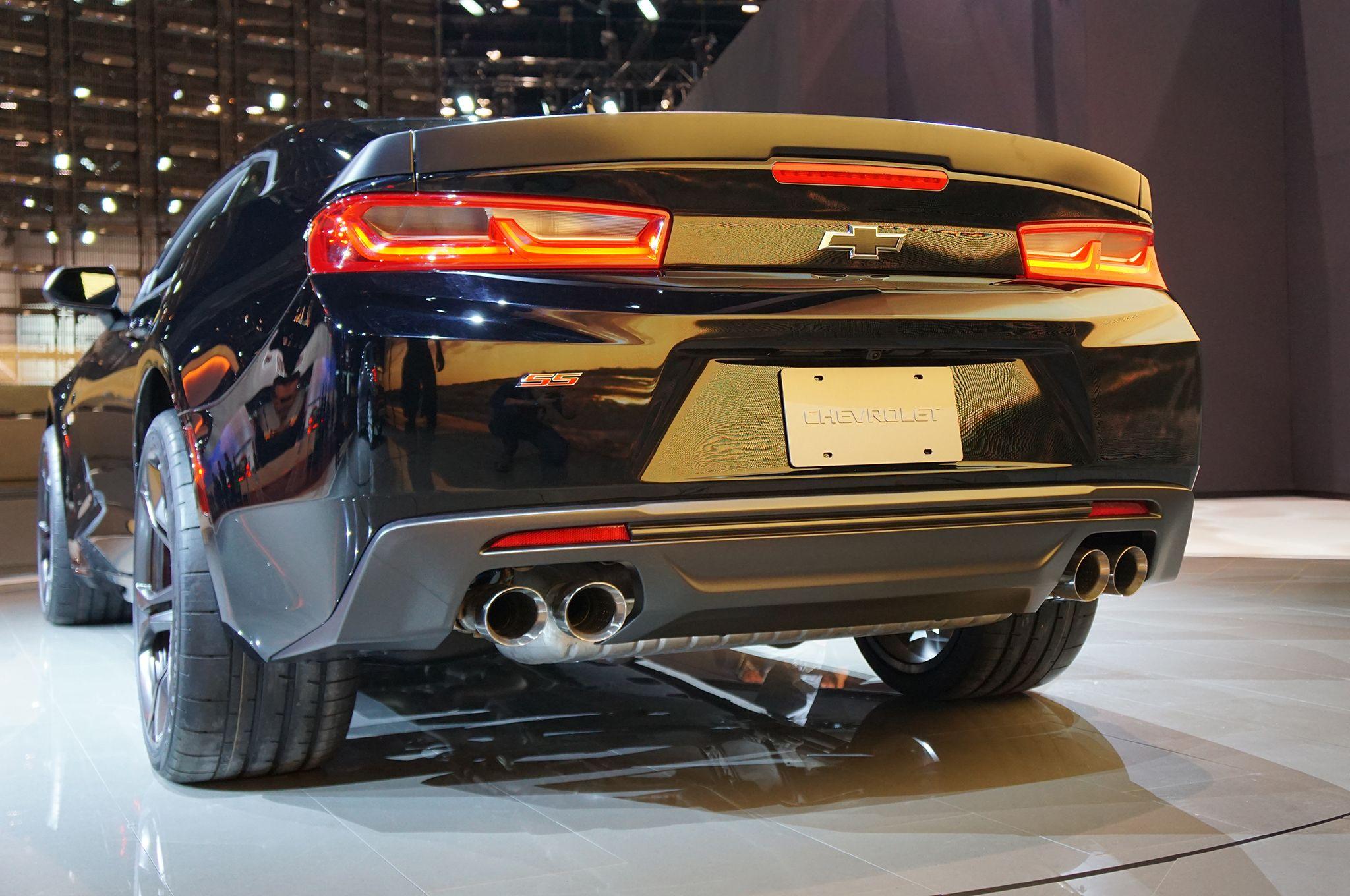 2017 Chevrolet Camaro 1ss Exhaust