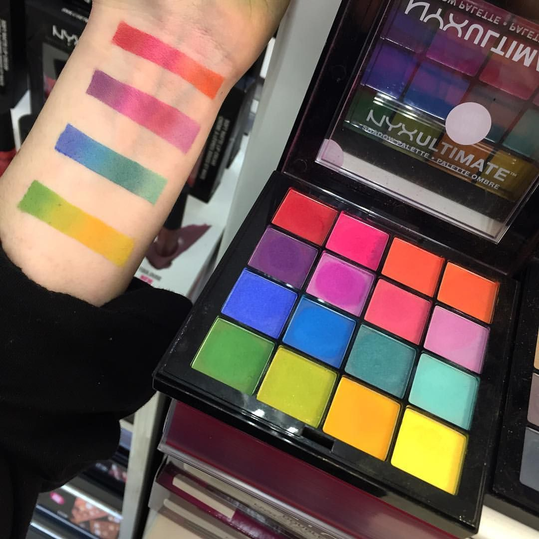 Nyx makeup nyx eyeshadow nyx colour nyx bright colour