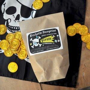 Pirates Mucus 6 doses Mitgebsel Enfants Anniversaire Anniversaire Enfants visqueuses Set