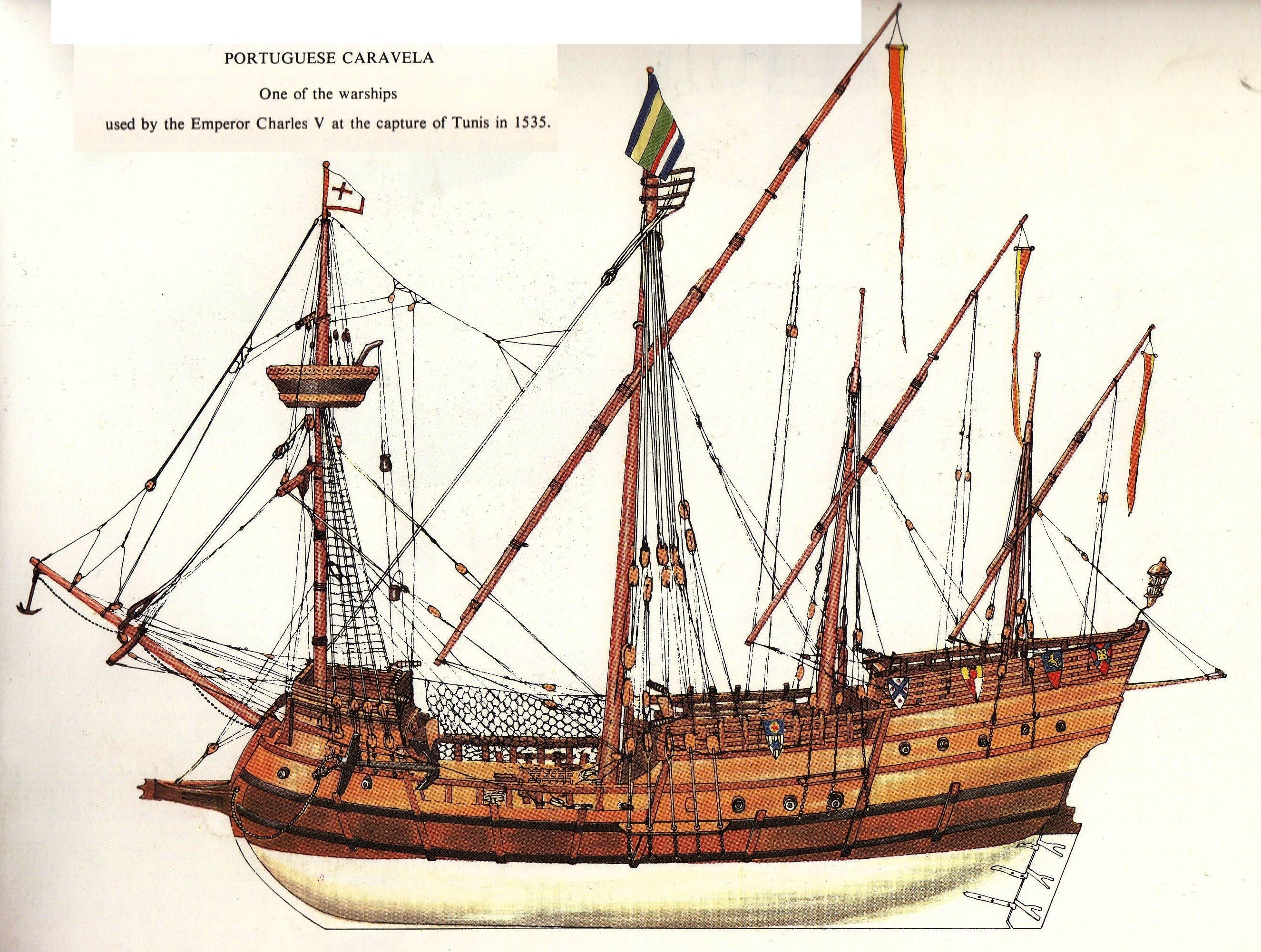 Portuguese Caravel  Early 16th Century In 2019