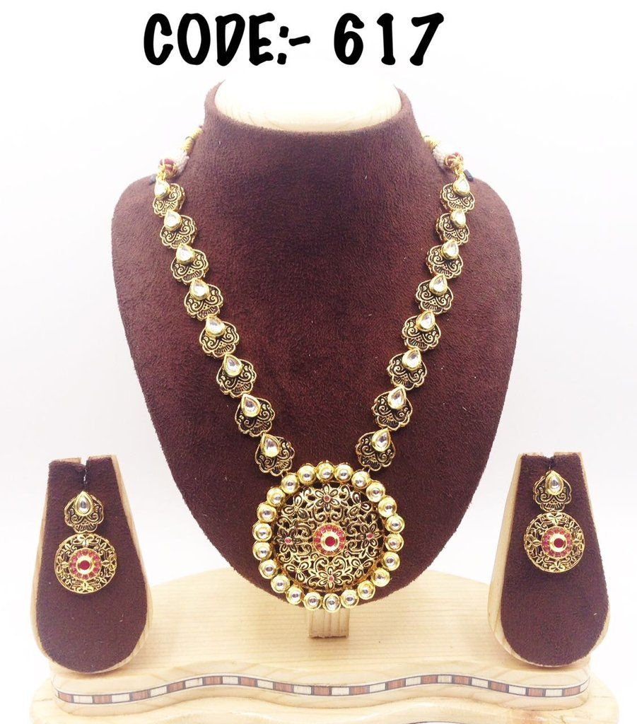 Real kundan jewelry set designers