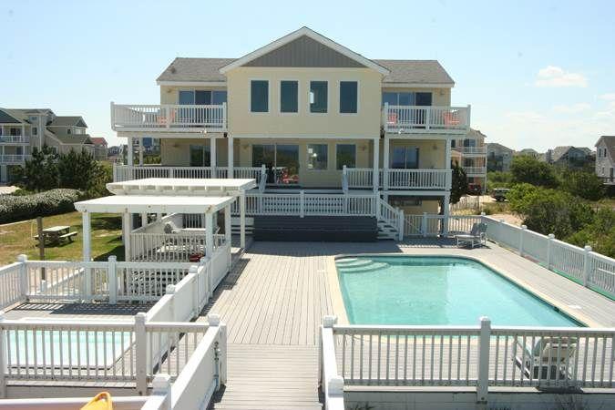 Pleasure Island 495 Whalehead Beach Rental Oceanfront Rentals Nc Vacation Rentals Vacation