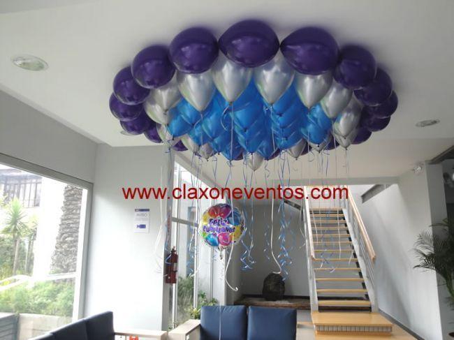 Centro de mesa con globo metalico resultados de yahoo for Decoracion de globos para hombres