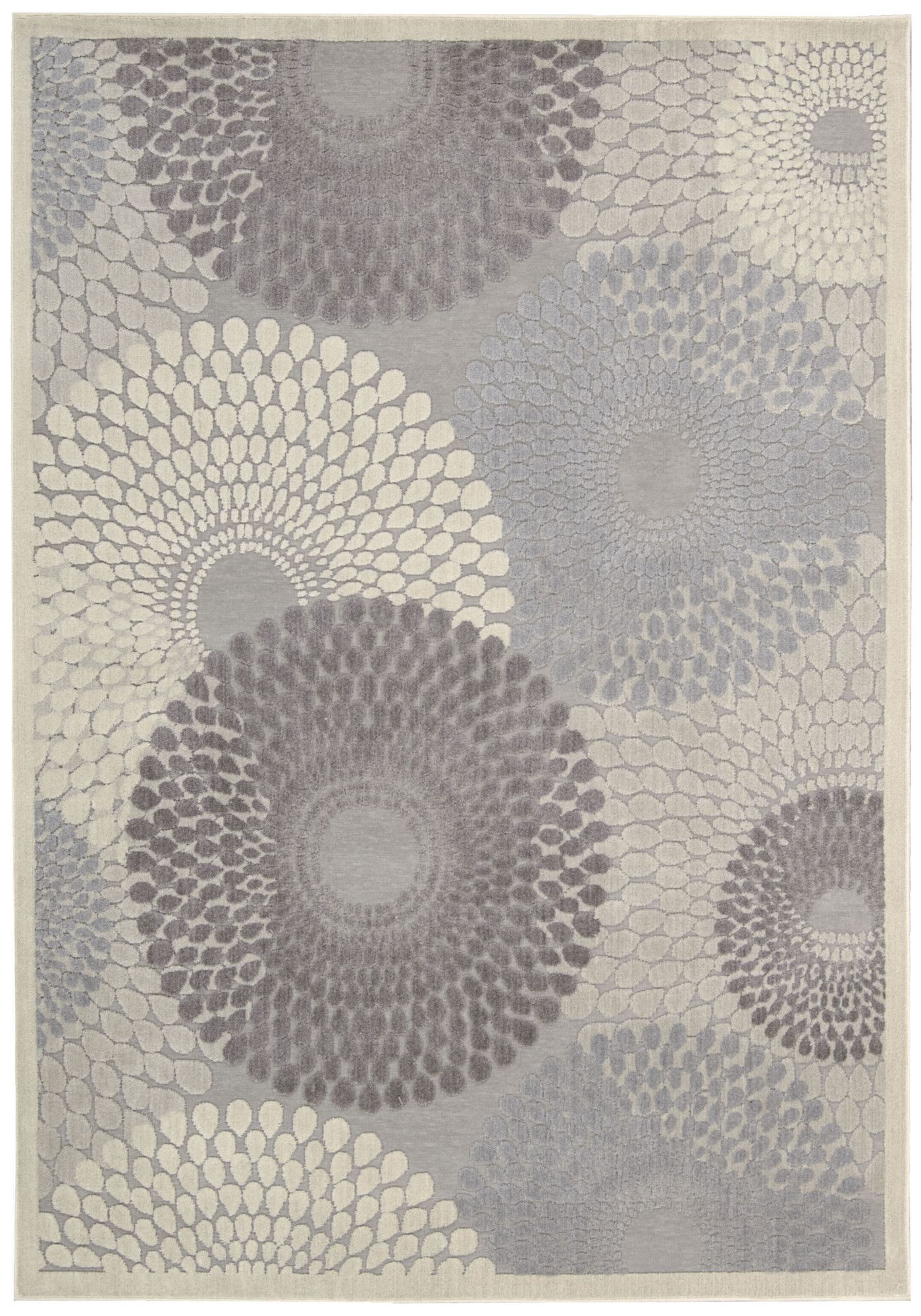 Nourison Graphic Illusions Grey Abstract Area Rug Reviews