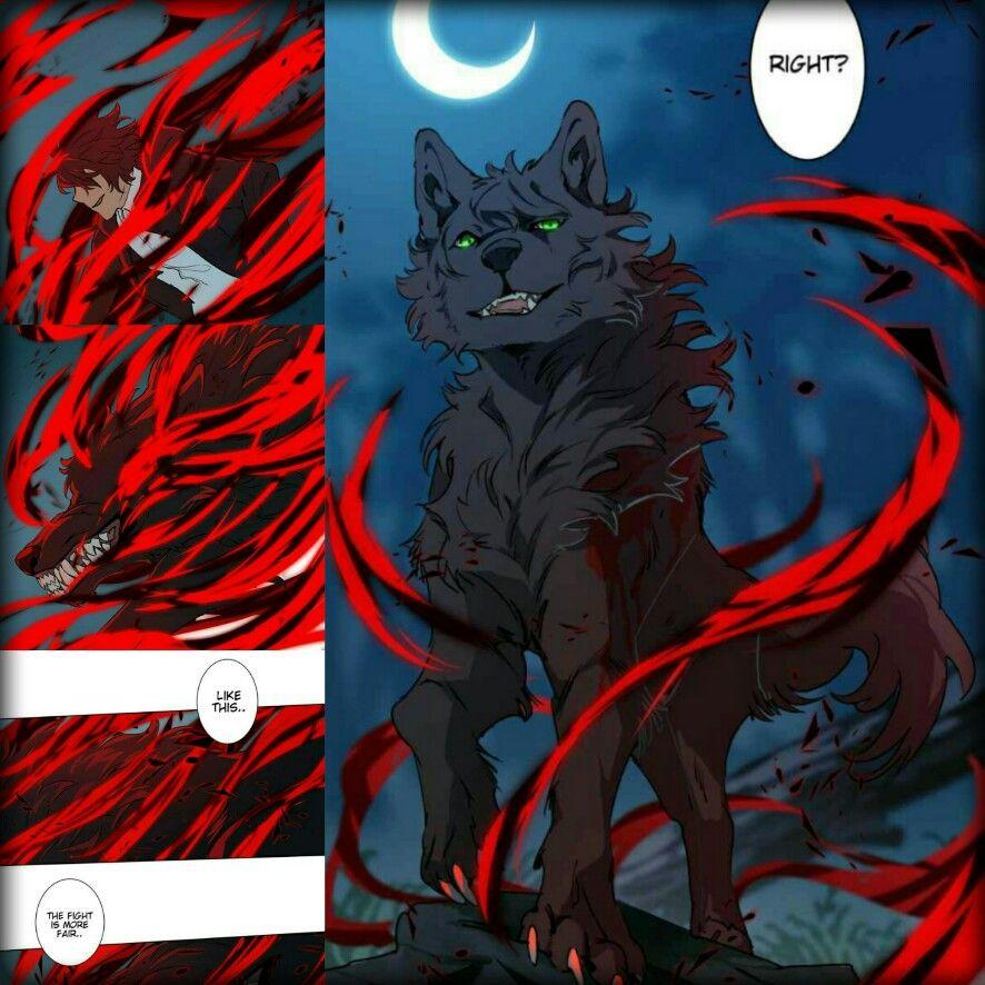 webtoon lumine cody manga werewolf witch manhwa