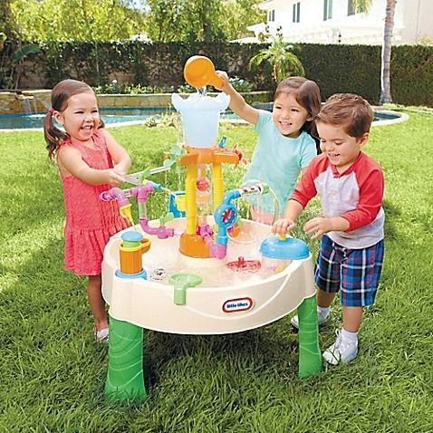 The Little Tikes Fountain Factory Water Table Brings