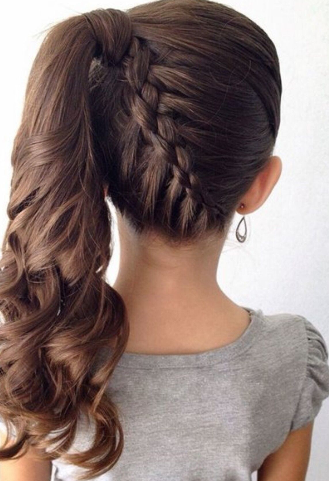 fancy little girl braids hairstyle