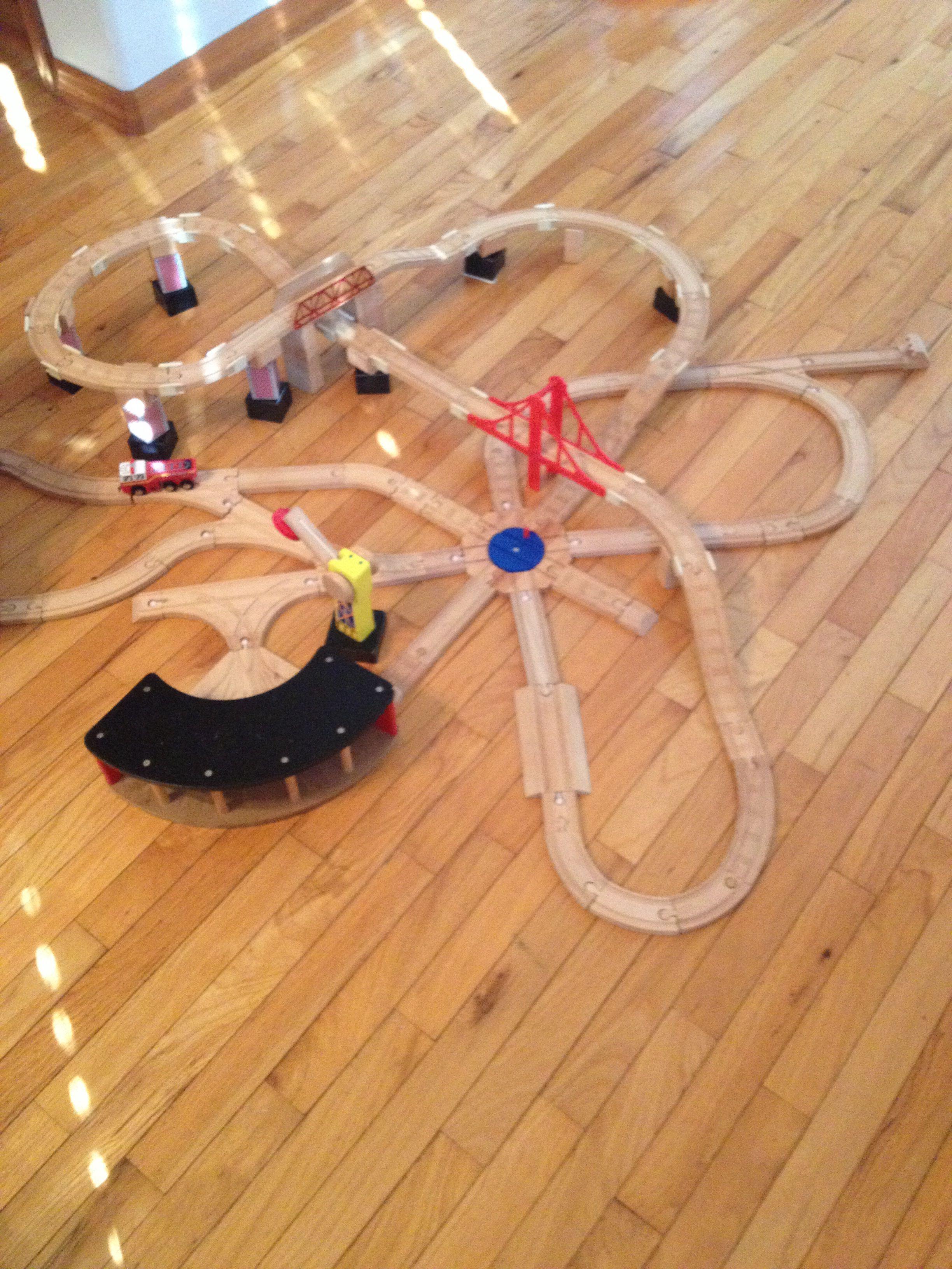 Thomas Wooden Train Track Design Toy Train Track Designs