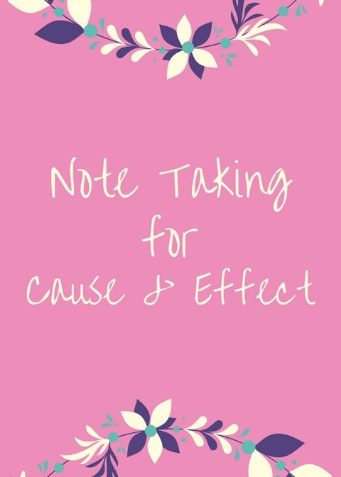 Note Taking For Bible Cause And Effect Free Pdf Download More