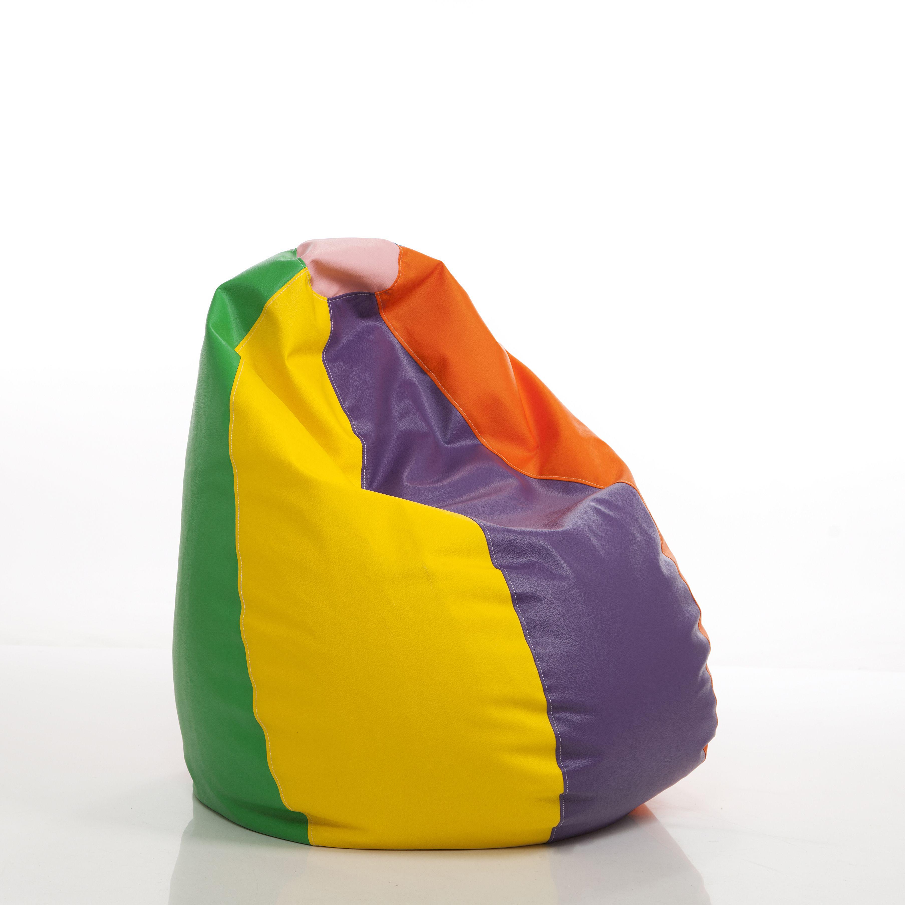 Puff de colores para habitaciones juveniles sillones de - Colores de habitaciones ...