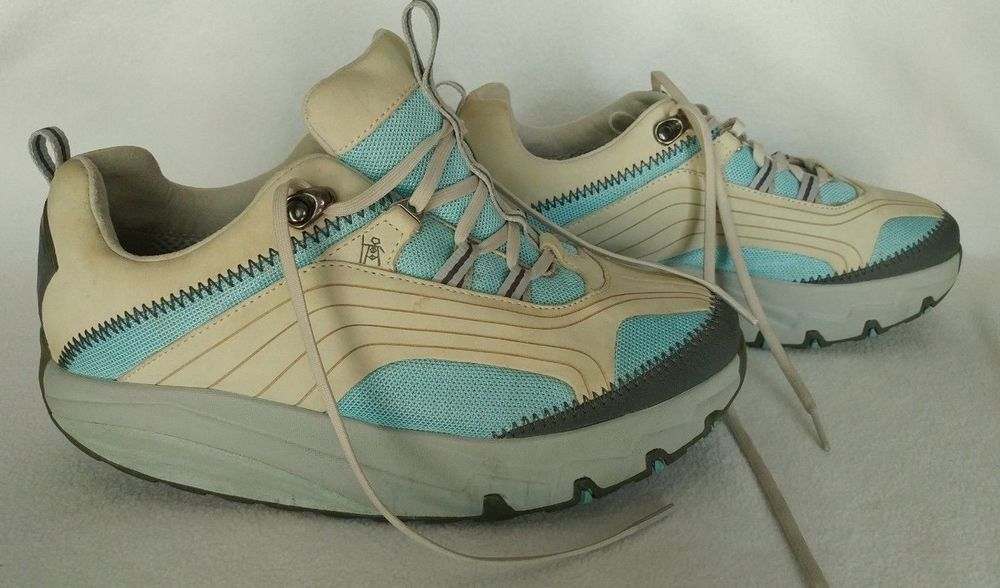 07399a7fa71c MBT Physiological Footwear Women s Sneakers Size 9 Chapa W Azul Toning Shoes   MBT  Wedge