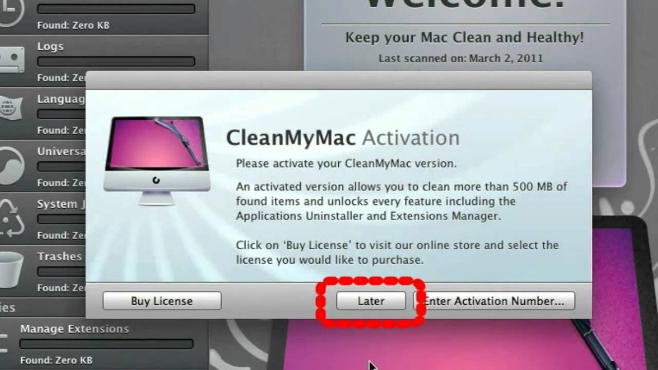 Image result for cleanmymac 3 crack with activation key