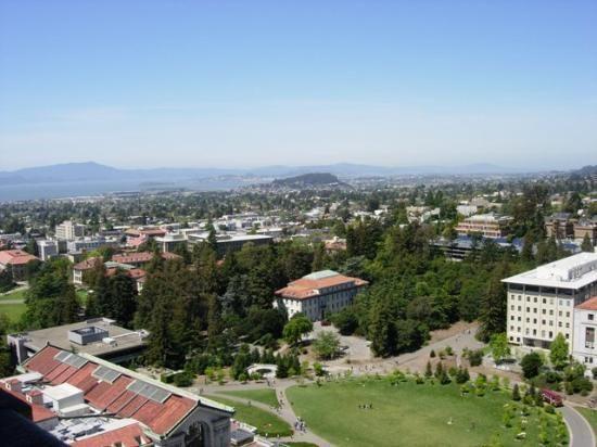 Berkeley, California.  For school.