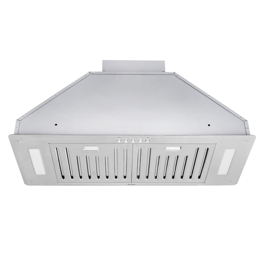 Kobe Range Hoods 30 In 550 Cfm Insert Range Hood In Stainless Steel With Baffle Filters Inx2830sqb 700 1 In 2020 Range Hoods Custom Cabinetry Range Vent