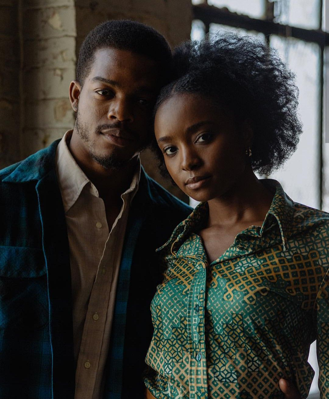 Stephan James And Kiki Layne For If Beale Street Could Talk Black Love Beale Street Black Skin
