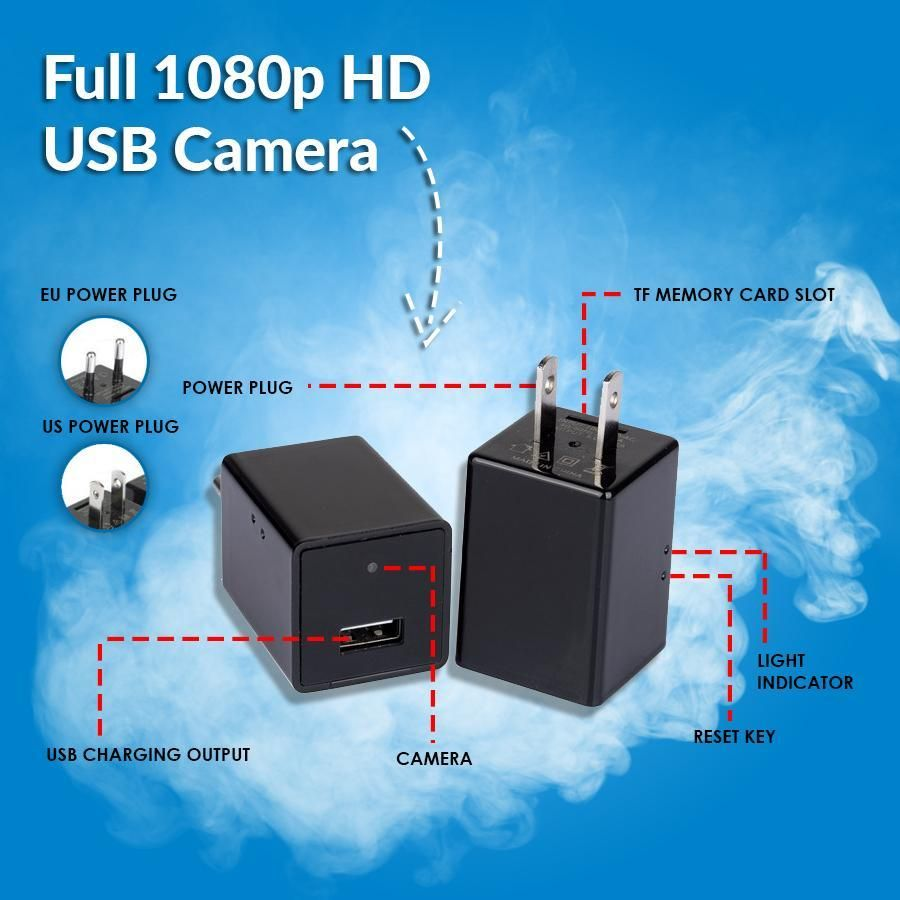 Full 1080p hd usb camera wireless home security systems