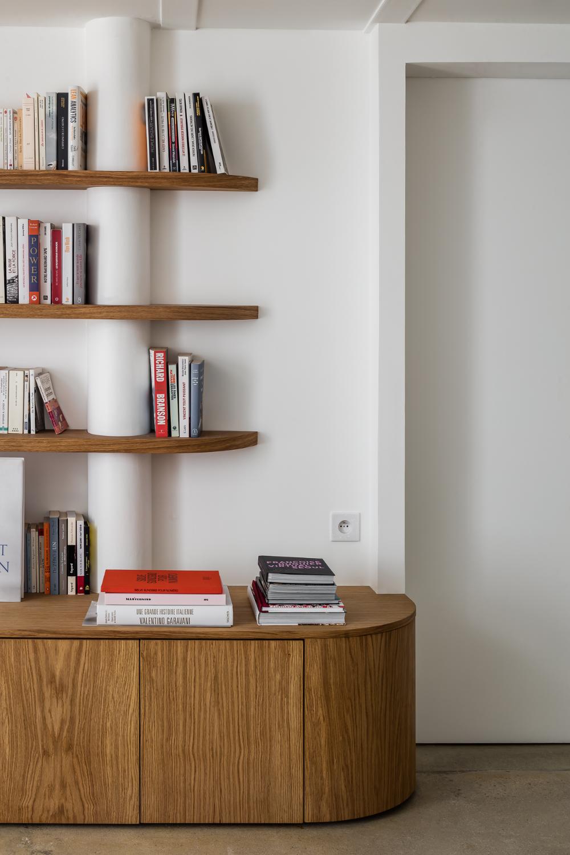 Fsd Atelier Leymarie Gourdon Architectes En 2020 Meuble Bas Rangement Amenagement Sejour Meuble Rangement Salon