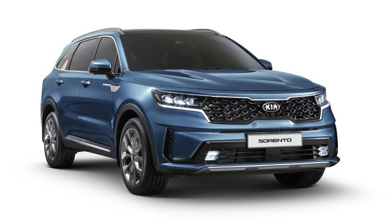 2021 Kia Sorento Officially Revealed Inside And Out In 2020 With