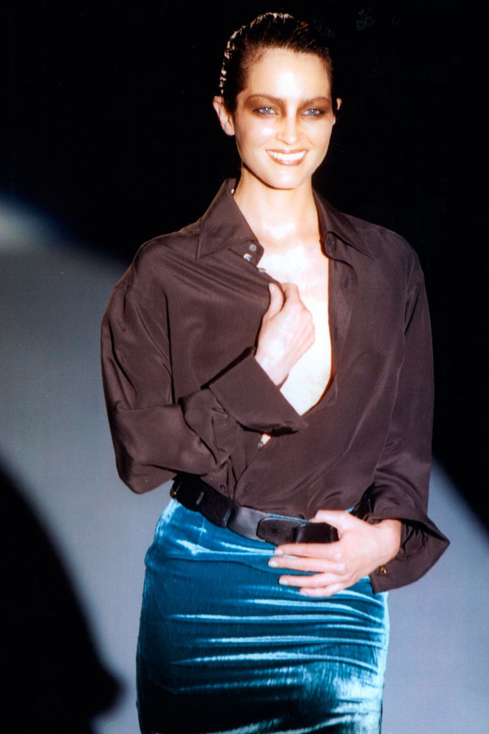 Chandra North at Gucci S/S 1997 -