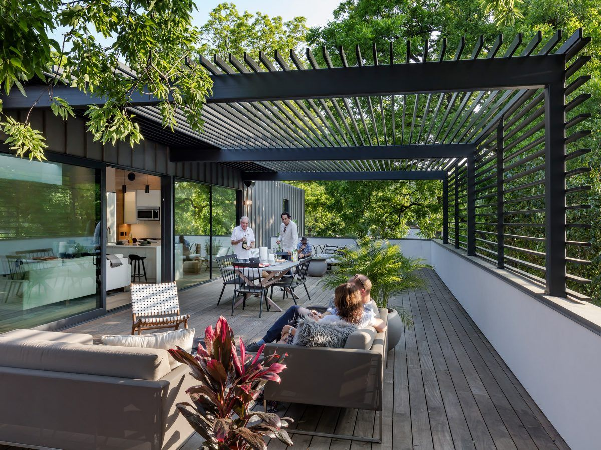 The Autohaus Is Perfect For Car Lovers Realestate Com Au Austin Homes Pergola Canopy Architecture