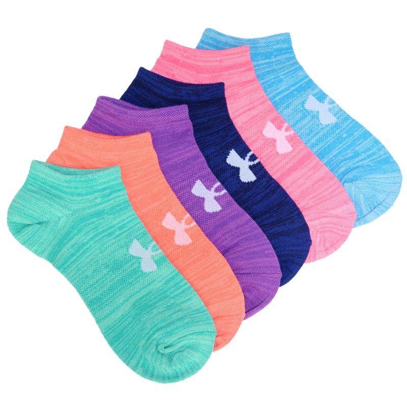 82b0511b70fb7 Women's 6 Pack Essential Twist No Show Socks | Products | Socks, No ...