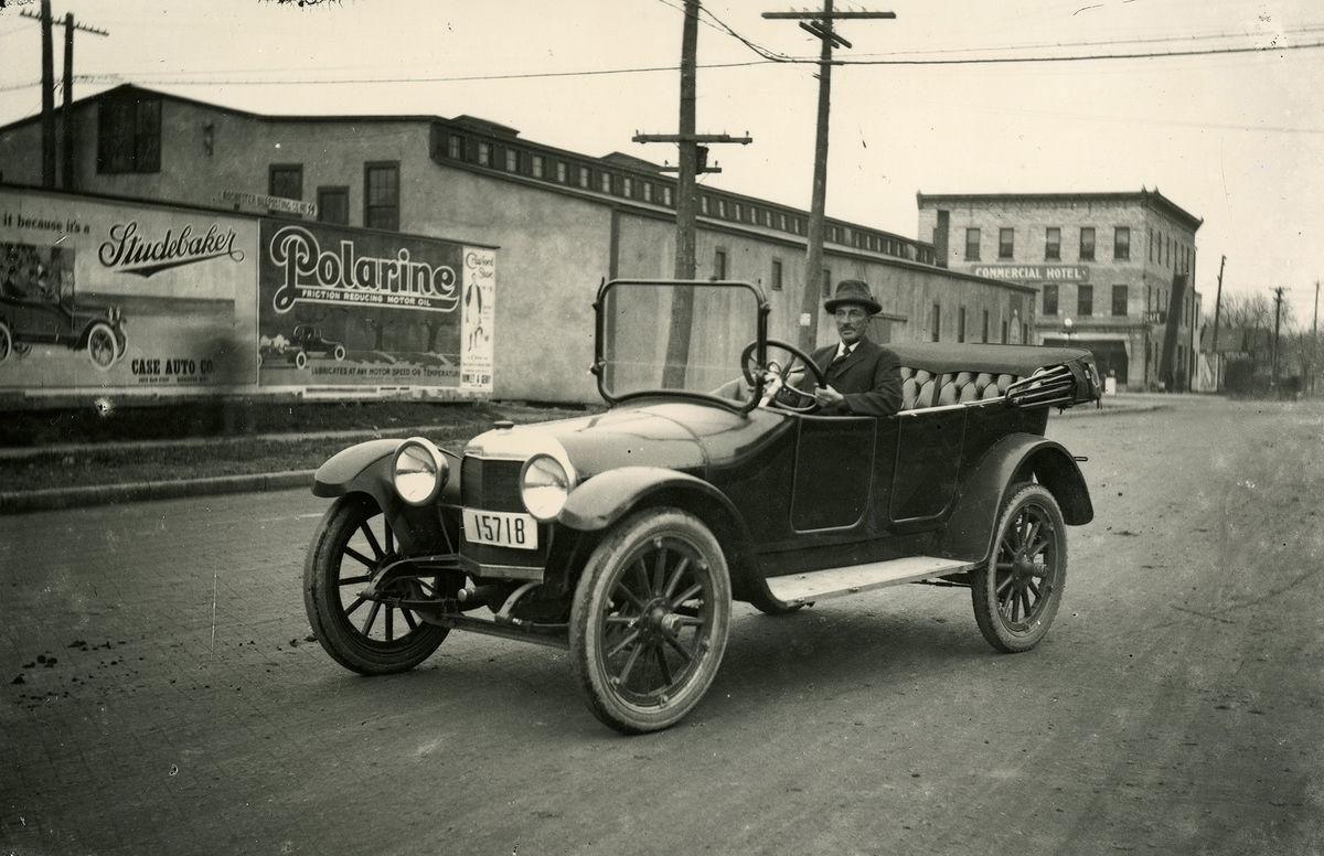 1918 ScrippsBooth Dealership, Rochester, Minnesota Car