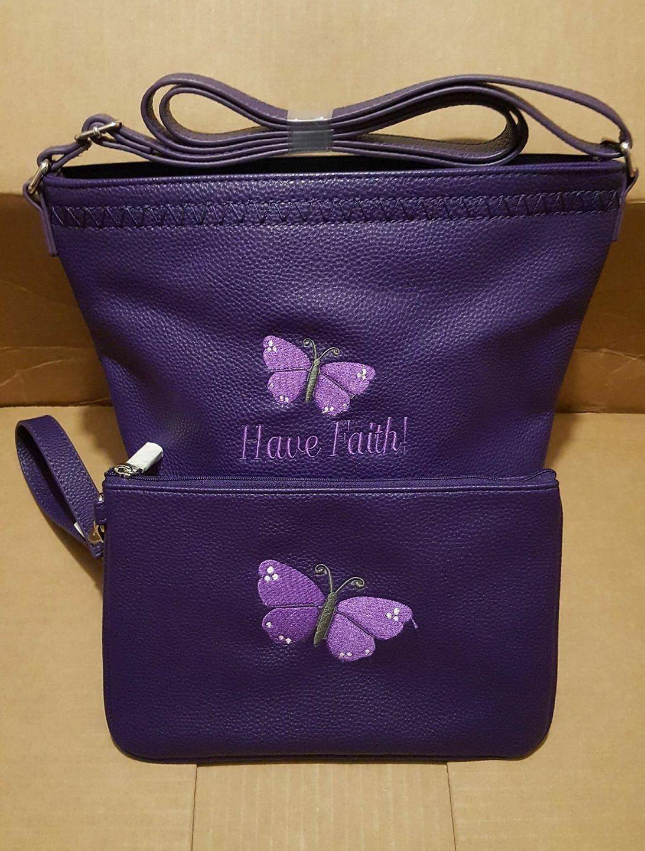 what a gorgeous purse set this makes posh purple cafe cross body and posh purple - Purple Cafe Ideas