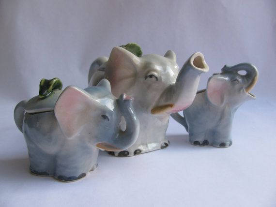 Vintage Made in Japan Children's Elephant Teapot with ...