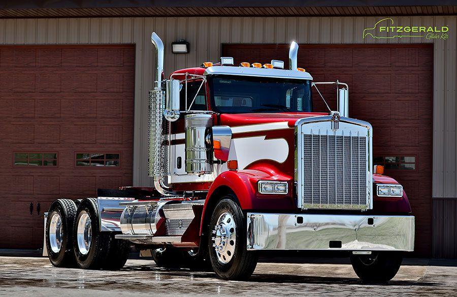 Kenworth W900 Kenworth W900 Fitzgerald Glider Kits Kenworth Kenworth W900 Kenworth Trucks