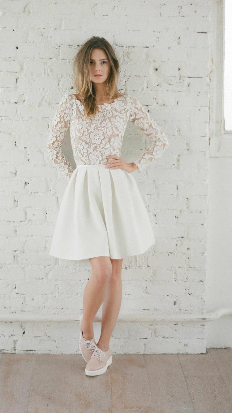 Cute short wedding dresses  Pin by Amb  on Dream Wedding  Pinterest  Wedding Wedding dress