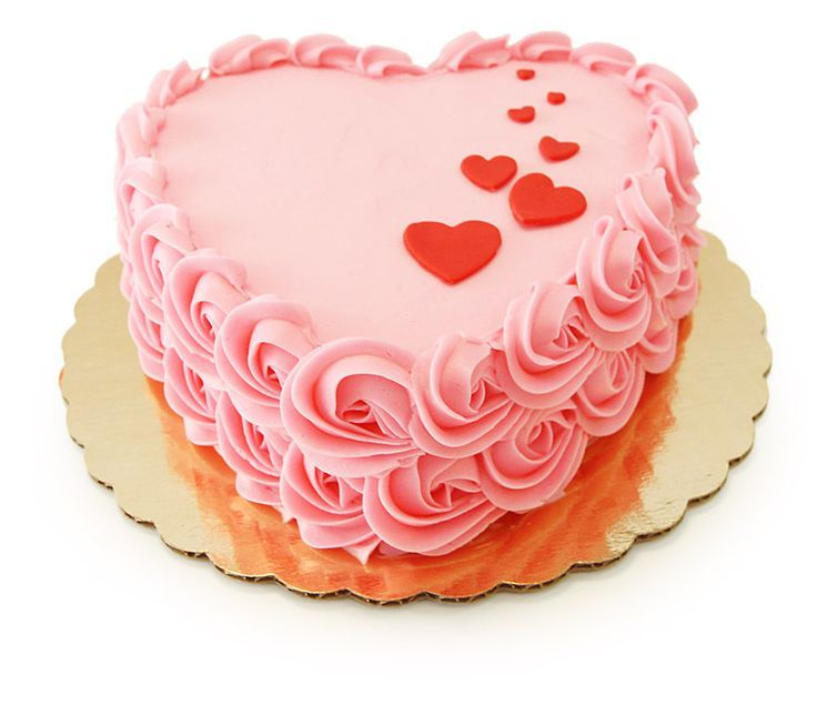 Heart Shaped Princess Cake