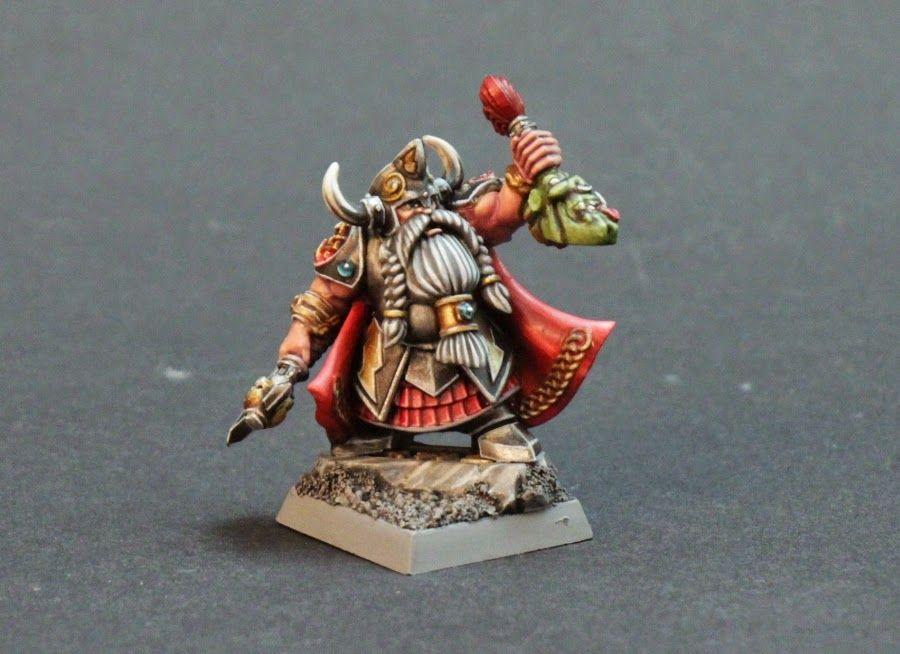 Dwarf Lord - Conversion by Darkdwarf