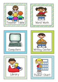 Free Literacy Center Icons Literacy Centers Kindergarten