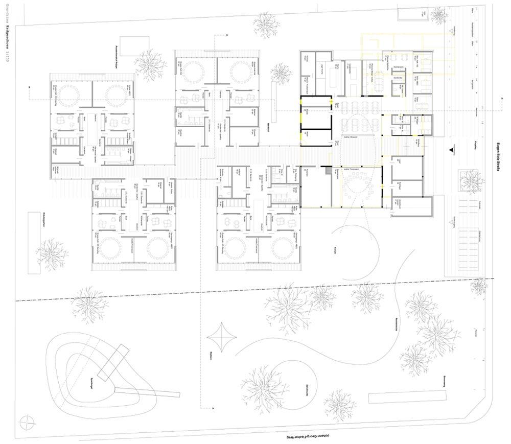 1. Preis roterpunkt architekten in 2020 Rote punkte