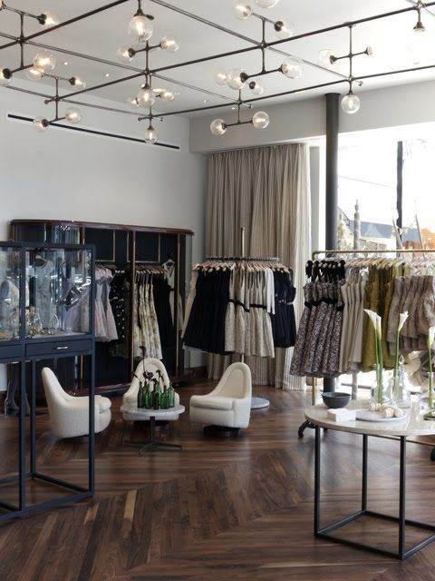 Becca Blue Picked What S In Store Retail Lighting Stunning Interior Design Boutique Interior