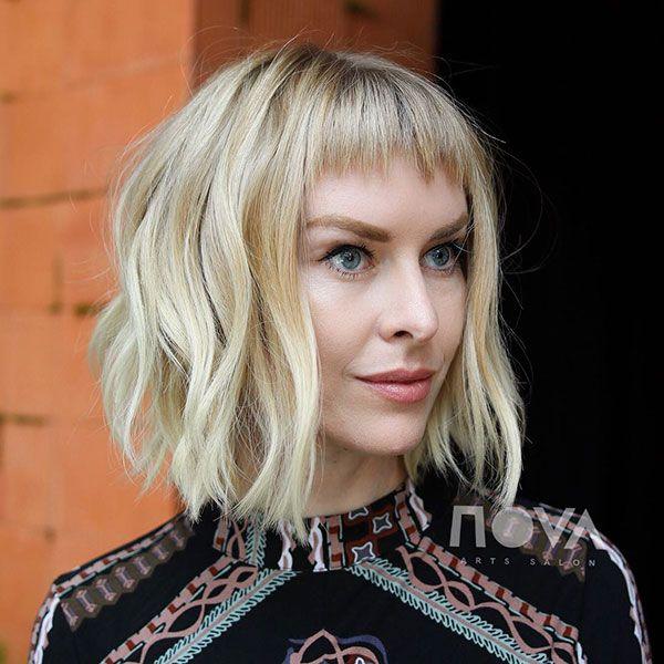 Blonde Short Hairstyle Haarschnitt Frisuren Kurz Haarschnitt Kurz