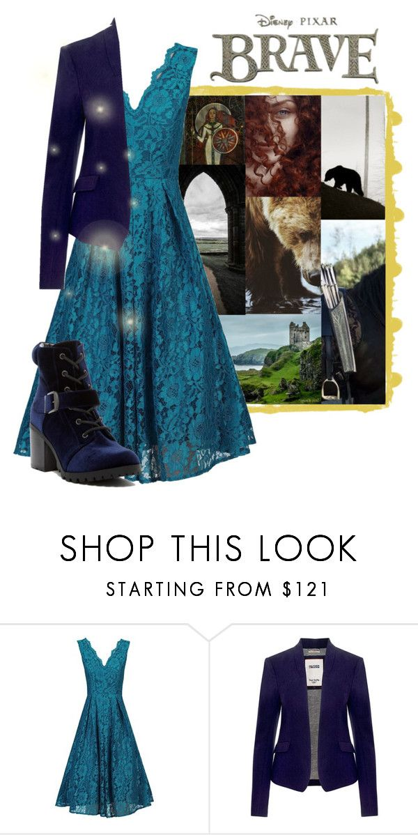 """Merida ♥"" by krgood7 ❤ liked on Polyvore featuring Merida, Jolie Moi, Tommy Hilfiger, Abound, destiny, pixar, queen, brave and bear"