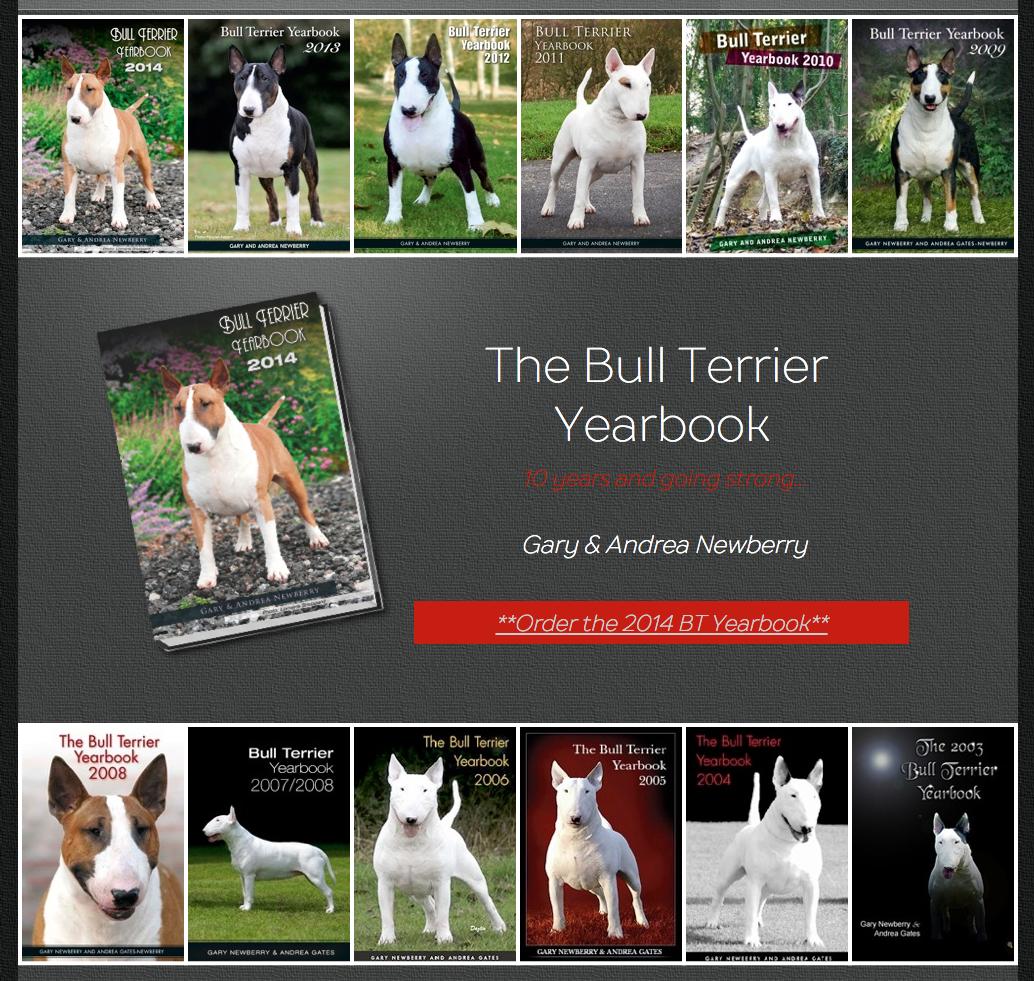 The Bull Terrier Year Book #BullTerrier