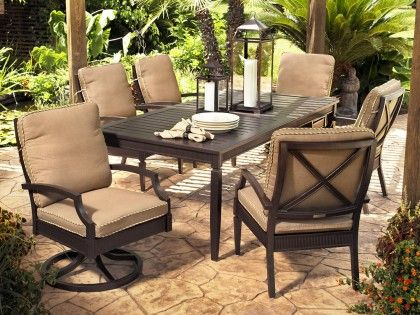 Broyhill Outdoor Radiance 7 Piece Dining Set Outdoor Dining