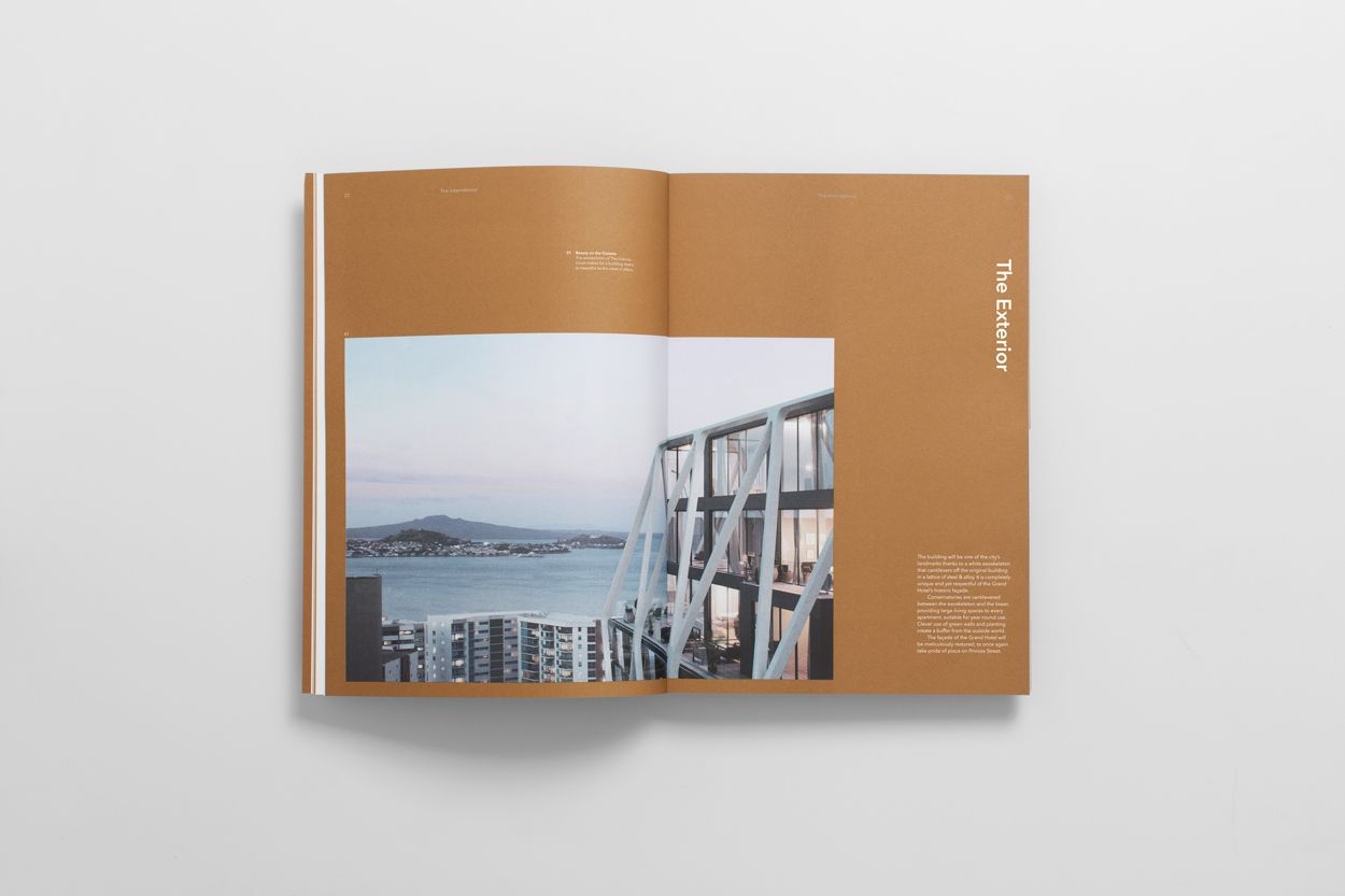 apartment brochure design. Brand Identity And Brochure Design By Studio South For Auckland Luxury Apartment Complex The International C