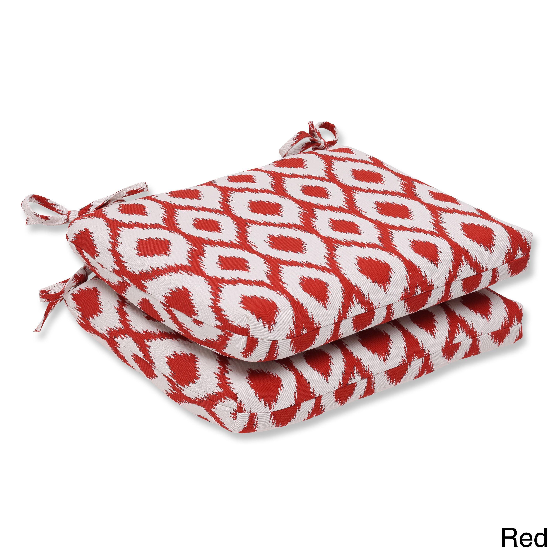 Pillow perfect squared corners seat cushion with belladura shivali