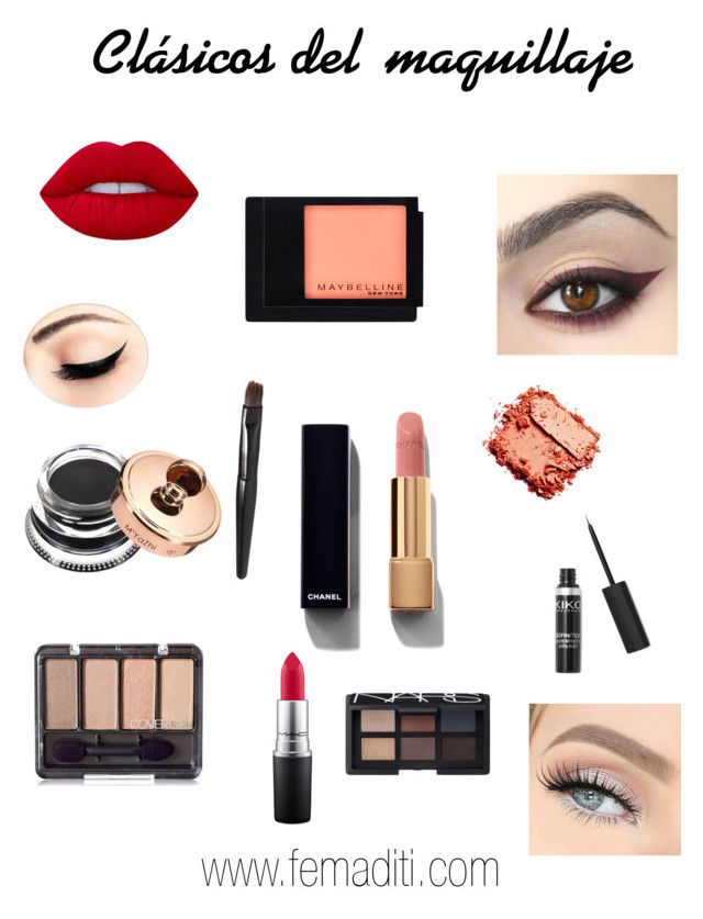 """Sin título #102"" by b2pbea on Polyvore featuring moda, Lime Crime, Chanel, Maybelline, MAC Cosmetics y NARS Cosmetics"