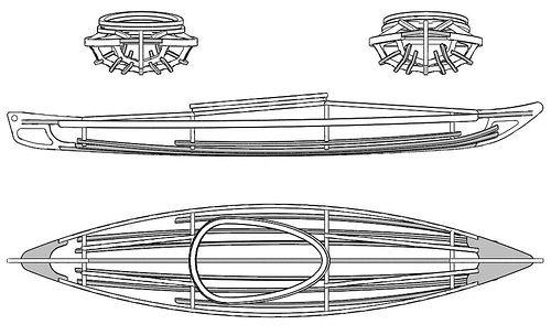 Kayak boat plans