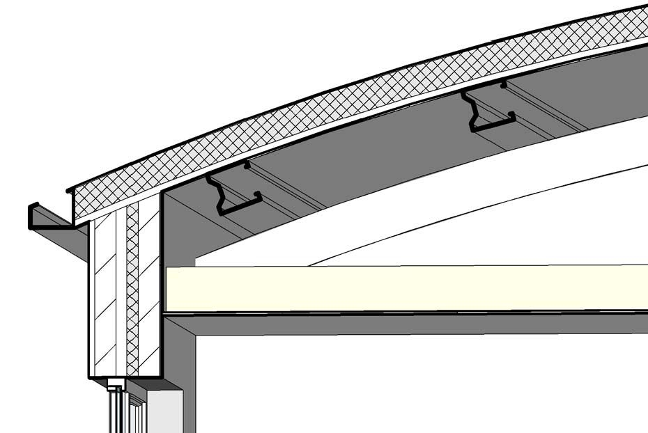 Revit Detail 04 1 Curved Roof Detail Analysis