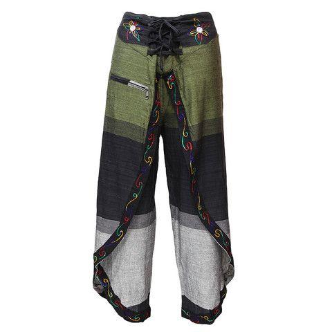 Wrap Around Boho Pants | Clothing | Pinterest