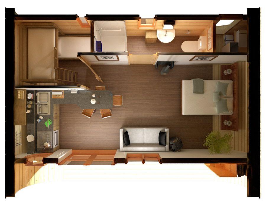 Eco Perch Tiny House Layout Small Modular Homes Tiny House Living