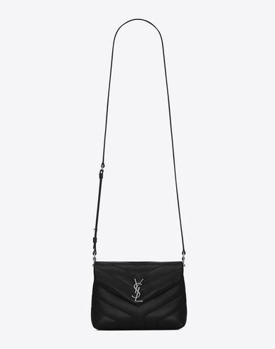 SAINT LAURENT MONOGRAM SAINT LAURENT STRAP BAG IN BLACK | YSL.COM