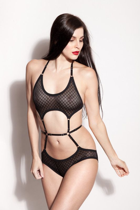 fa593fbfdb3bf Alexis Bodysuit by Hopeless Lingerie