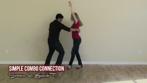 """This simple salsa dance video lesson will show you how to connect beginner and intermediate salsa dance moves into a simple combination. We will utilize a regular cross body lead, S-turn, Cross Body Lead 180 and a hammer lock loop over lock in sequence for this combination. If you have any questions on each of the individual moves, check out our previous videos at <a href=""""http://www.addicted2salsa.com/videos"""">http://addicted2salsa.com/videos</a>"""